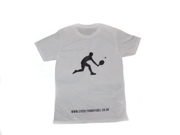 padel t-shirt white 2