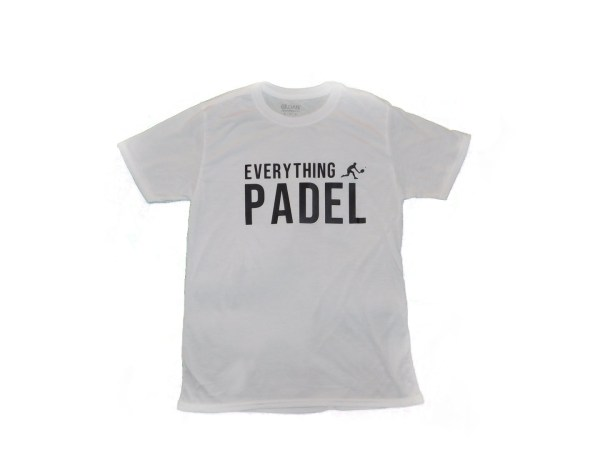 padel t-shirt white