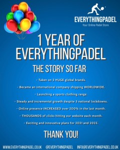 1 year of everythingpadel
