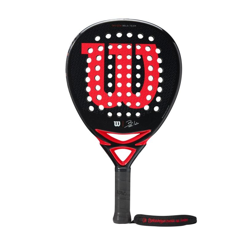 wilson bela team padel racket