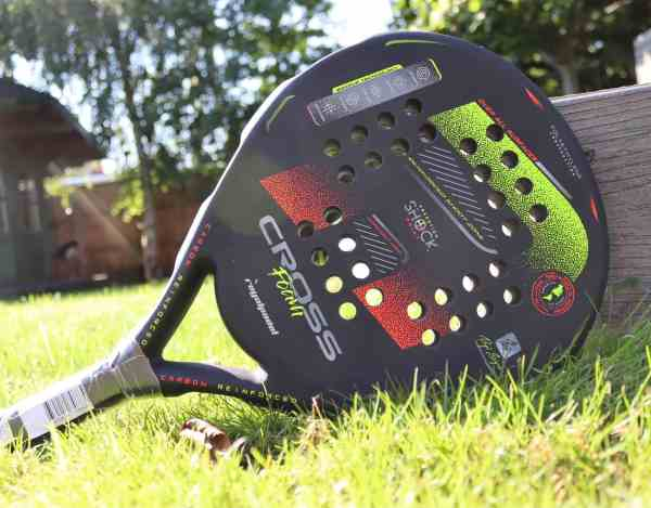 royal padel supercross poly padel racket
