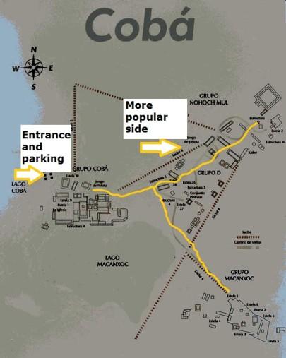 Yucatan Ruins Map : yucatan, ruins, Discover, Ruins, Close, Riviera, Maya!, Everything, Playa, Carmen