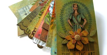 Mixed Media Tags