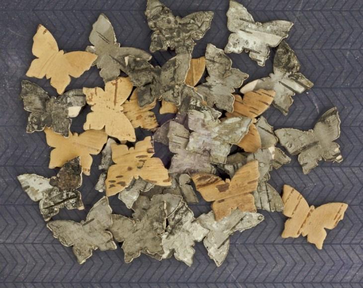 Prima Bark Shapes - Butterflies
