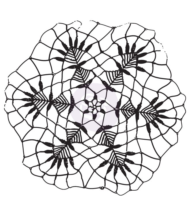 Prima Clear Stamps - Doily