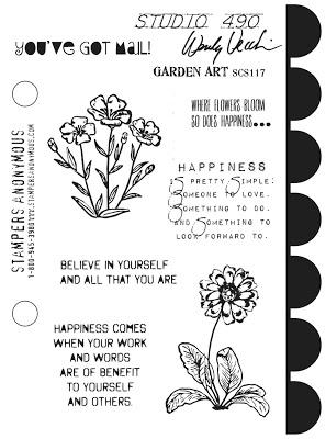 Wendy Vecchi Garden Art Stamp Set