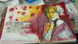 Dina Wakley Ink Art Jornal