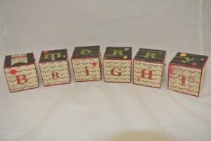 Decorative blocks