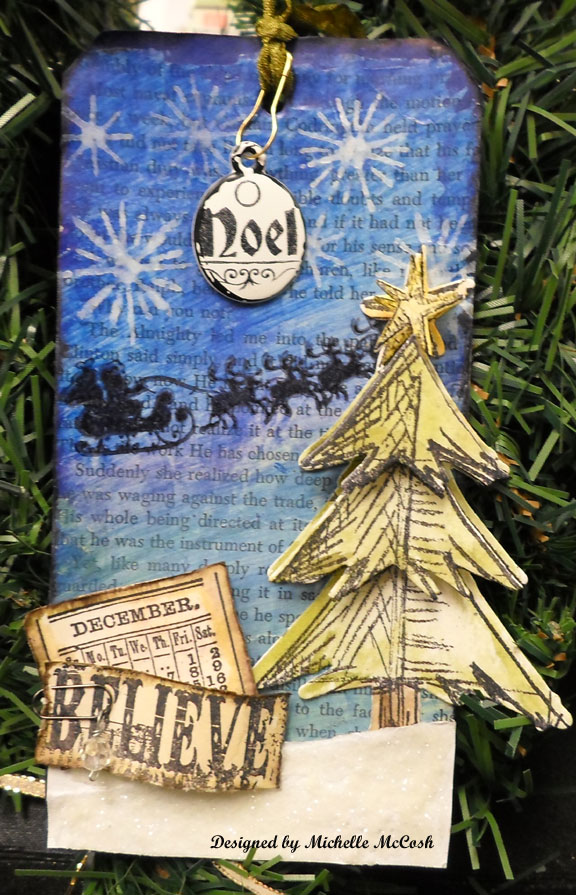 12 tags of christmas tim holtz