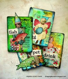 ATC Swap @ Everything Scrapbook and Stamps | Lake Worth | Florida | United States