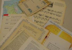 Vintage Book Papers