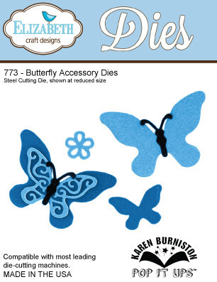 Butterfly Accessory Die