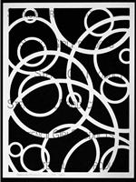 Spheres Stencil by  Michelle Ward