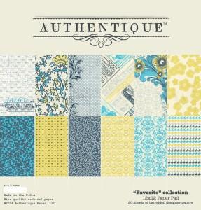 Authentique Favorite 12x12 Collection