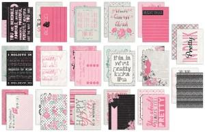 Pretty Journal Cards