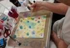 Julie Nutting Art in Progress