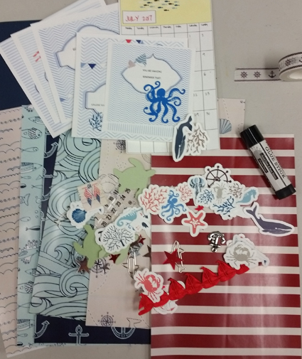 Everything Scrapbook And Stamps And Paint And Ink And Mixed