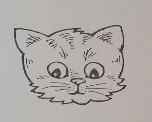 Pop Up Kittie face
