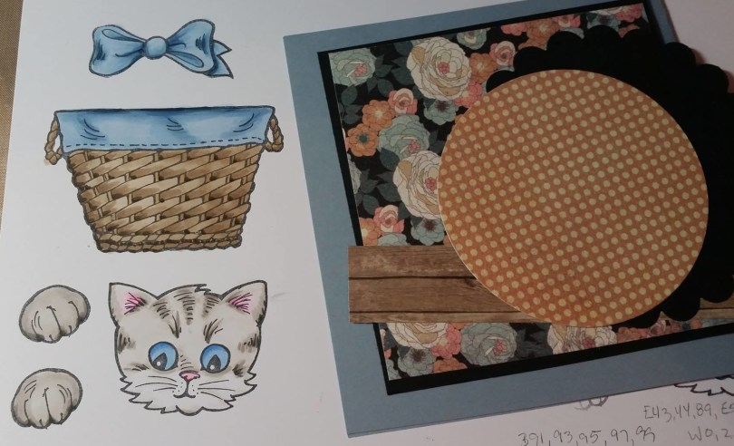 Die Cutting Colored Images