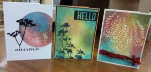 Distress Oxide Cards @ everything scrapbook & stamps | Lake Worth | Florida | United States