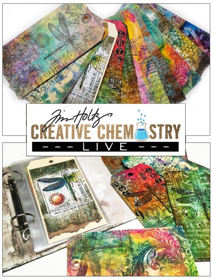 tim holtz creative chemistry live