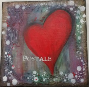 Heart Canvas @ everything scrapbook & stamps | Lake Worth | Florida | United States