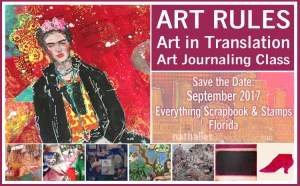 Art Rules with Nathalie Kalbach @ everything scrapbook & stamps | Lake Worth | Florida | United States