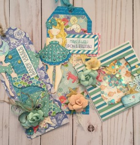 Julie Nutting Under the Sea Watercolor Tags @ Everything Scrapbook & Stamps | Lake Worth | Florida | United States