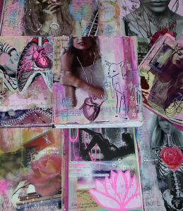 Juicy Journal Pages  - Kelly Kilmer @ Everything Scrapbook & Stamps   Lake Worth   Florida   United States