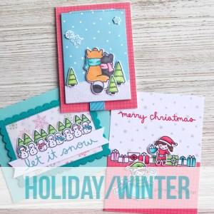 Lawn Fawn - Holiday/Winter Cards with Jenn Shurkus @ Everything Scrapbook & Stamps | Lake Worth | Florida | United States