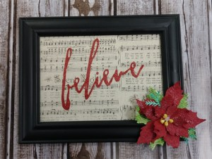 Home Decor - Holiday Frame @ Everything Scrapbook & Stamps | Lake Worth | Florida | United States