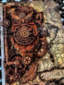 Secret World - Antonis @ Everything Scrapbook & Stamps