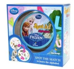 Frozen Spot It Alphabet Game