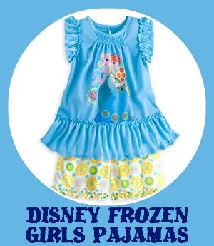 Disney Frozen Girls Pajamas