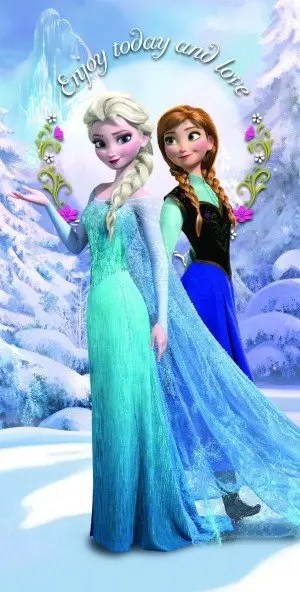 Disney Frozen Towels: Bath and Beach Towels