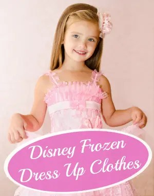 Disney Frozen Dress Up Clothes for Girls