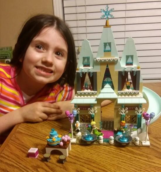 Sammie's Frozen Arendelle Castle LEGO Playset