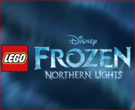 LEGO Frozen Movie Northern Lights