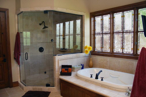 Privacy Can Be Beautiful In Bathroom Window Treatments
