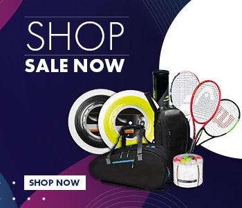 Shop discounted tennis equipment