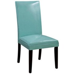 Turquoise Chairs Leather Seat Covers For Bonded Classic Parson Chair Everything