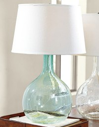 Eva Colored Glass Table Lamp | Everything Turquoise