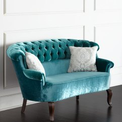 Tufted Turquoise Sofa Sofas San Antonio Texas Lulu Settee Everything