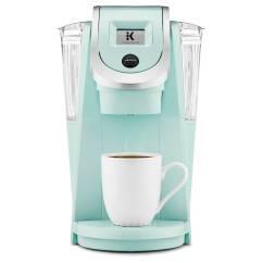 Teal Kitchen Appliances Cabinet Design Keurig 2.0 K200 Coffee Maker Brewing System In Oasis ...