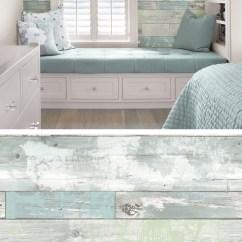 Desk Chair Turquoise Care Patio Beachwood Reusable Peel & Stick Vinyl Wallpaper   Everything