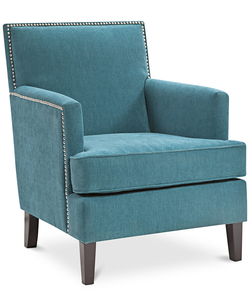 Blue And Green Accent Chair