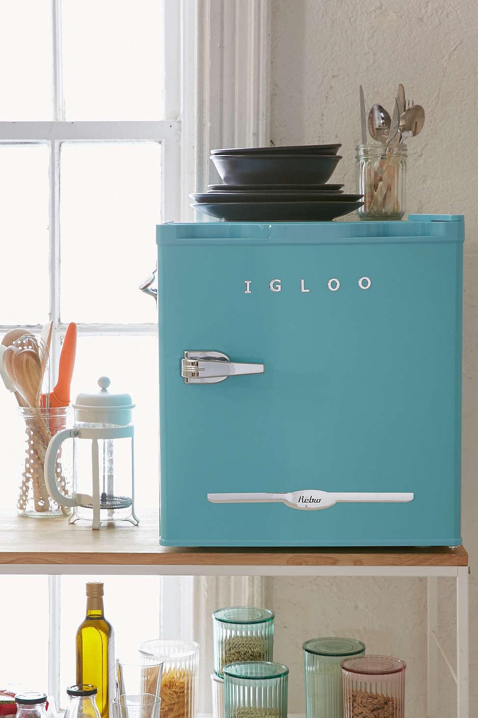 Sky Igloo Mini Refrigerator Everything Turquoise