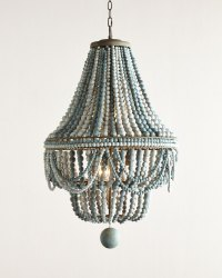 Malibu Beaded 6-Light Chandelier | Everything Turquoise