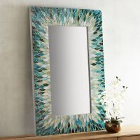 Cascade Mosaic Mirror | Everything Turquoise
