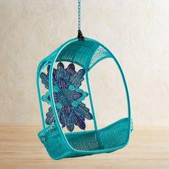 Swingasan Hanging Chair Gray Bedroom Rail Medallion Ocean Everything Turquoise